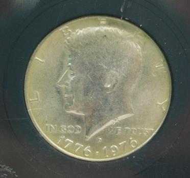 1976 Brilliant Uncirculated Bicentennial Half Dollar