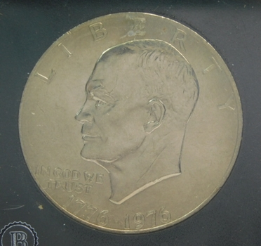 1976 Brilliant Uncirculated Bicentennial Dollar Coin