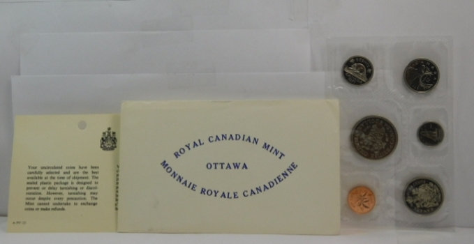 1971 Canadian Uncirculated Mint Set in Original Mint Packaging