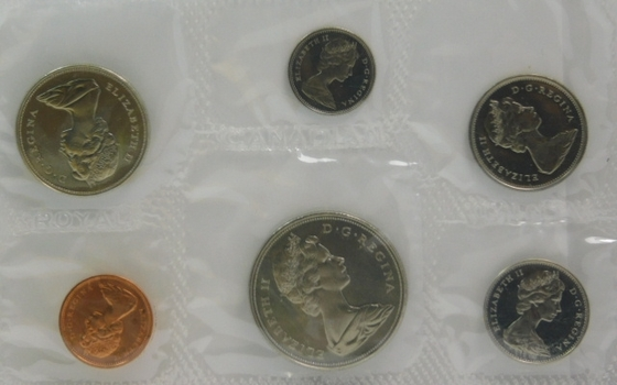 1968 Canadian Uncirculated Mint Set in Original Mint Packaging and Envelope