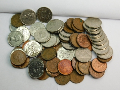 Canadian Nickel and Cent Coin Lot