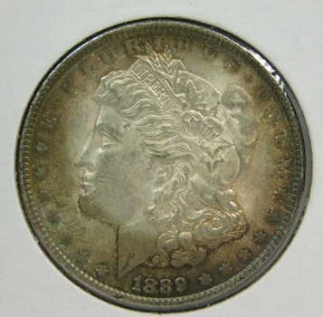 1889 Morgan Silver Dollar - Nice Detail - Philadelphia Minted