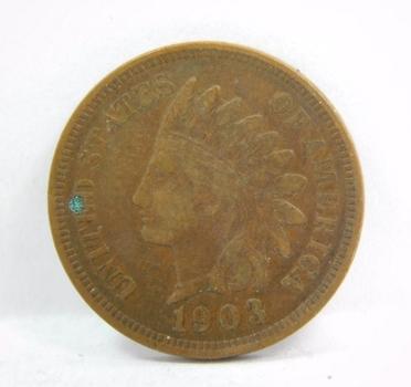 HIGH GRADE - 1903 Indian Head Cent - LIBERTY