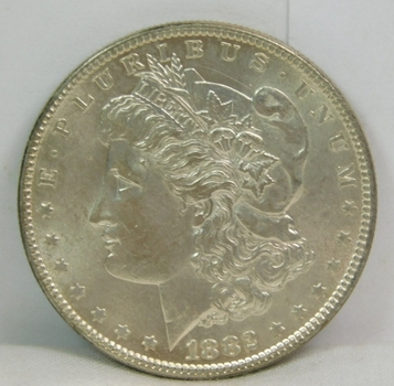HIGH GRADE 1882 Morgan Silver Dollar