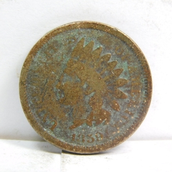 1859 Copper Nickel Variety Indian Head Cent