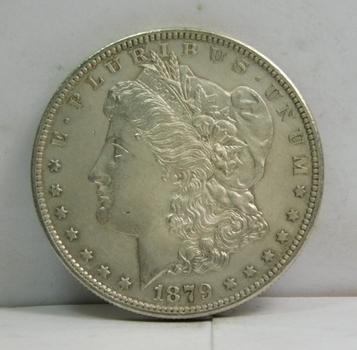 1879-S Morgan Silver Dollar - Excellent Detail - San Francisco Minted