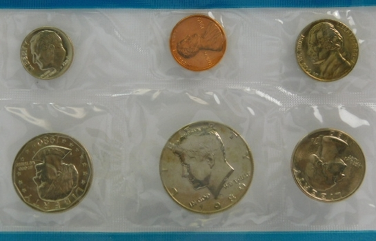 1980 United States Philadelphia Uncirculated Coin Set