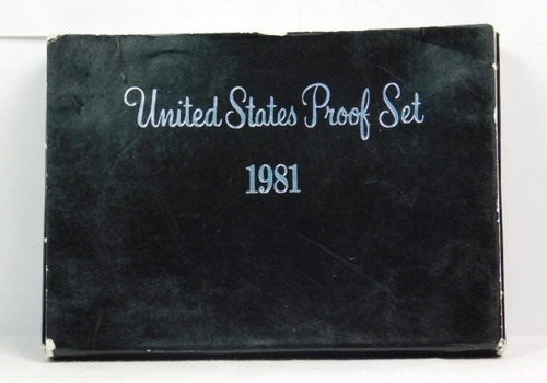 1981 United States Proof Set with Original Box