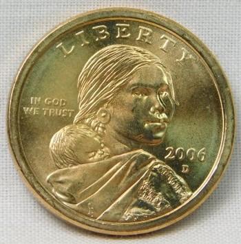 2006-D Uncirculated Sacagawea Commemorative Dollar - Denver Minted