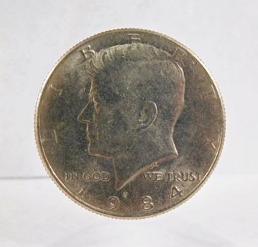 1984-P Kennedy Half Dollar High Grade