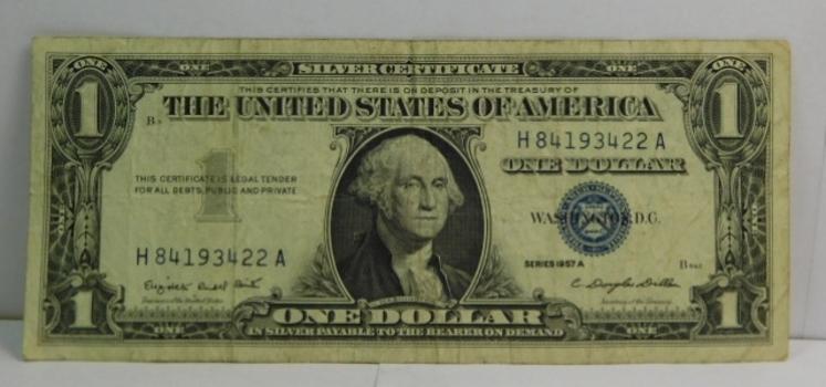 Series 1957A $1 Silver Certificate - Crisp Paper