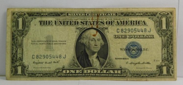 Series 1935G $1 Silver Certificate - Crisp Paper