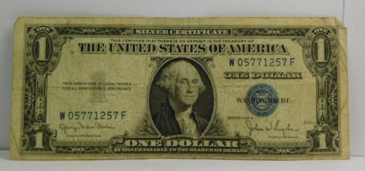 Series 1935D $1 Silver Certificate