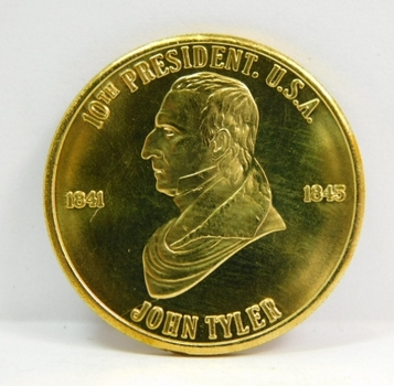 John Tyler - 10th President - Commemorative Coin/Medal