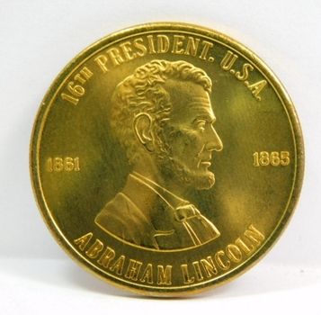 Abraham Lincoln 16th President of the United States - Commemorative Medal