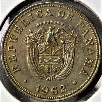 Panama 1962 5 Centesimos KM-23.2