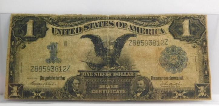 1899 $1 Black Eagle Large Size Silver Certificate