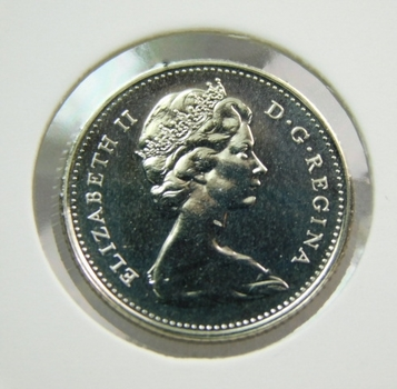 1978 Canada Brilliant Uncirculated Ten Cent Coin (Dime)