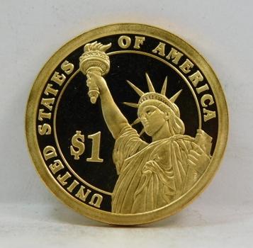 2008-S US Mint Proof Martin Van Buren One Dollar Presidential Coin DCAM Gem Coin-2008 US Proof Set Issue
