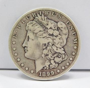 "MINT ERROR 1899-O ""Micro O"" Variety Morgan Silver Dollar"