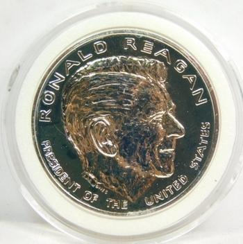 1981 Ronald Reagan Presidential Inauguration Silver Commemorative - Brilliant Uncirculated