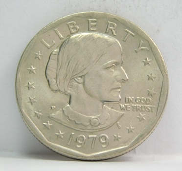 1979-P Uncirculated Susan B Anthony Dollar ($1) - First Year of Issue