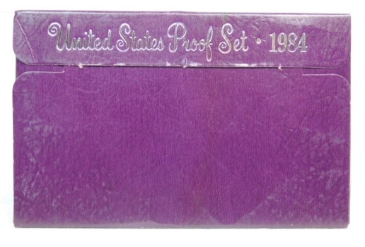 1984 United States Proof Set With Box - Doesn't Show Up in Photo But Box Has Scotch Tape On It