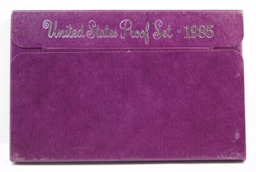 1985 United States Mint Proof Set with Original Box
