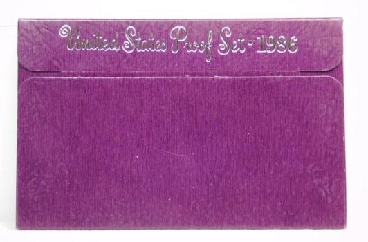 1986 United States Proof Set With Original Box