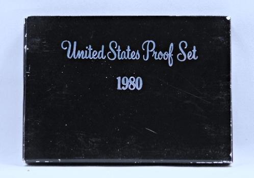 1980 United States Proof Set with Original Box