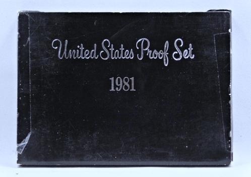 1981 United States Proof Set with Original Box