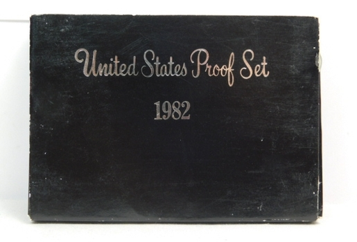 1982 United States Proof Set with Original Box