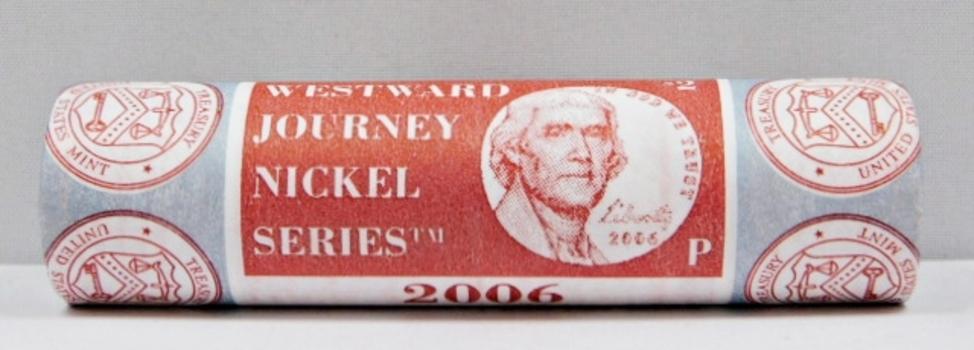 2006-P Uncirculated/Unopened Mint Roll of Jefferson Nickels - Philadelphia Mint