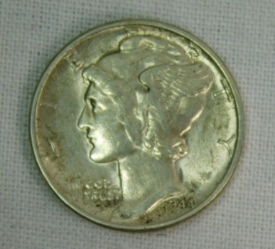 1944 Silver Mercury Dime - High Grade!