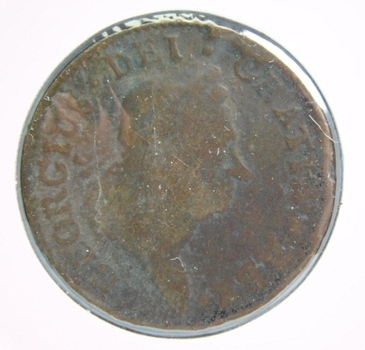 1723 Woods Hibernia Half Penny