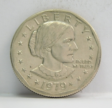 1979-P Susan B Anthony Dollar ($1) - Excellent Detail - First Year of Issue