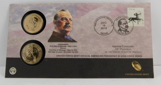 2012 All 4 Presidential D Dollars Uncirculated 4 Coins BU