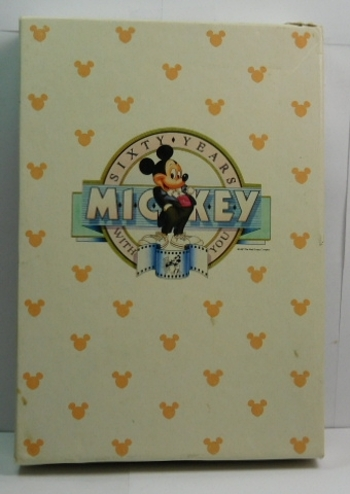 1988 MICKEY MOUSE - 60 Year Commemorative 1 oz .999 Fine Proof Silver Coin - Serial Number 43746 - Beautiful Gift Packaging