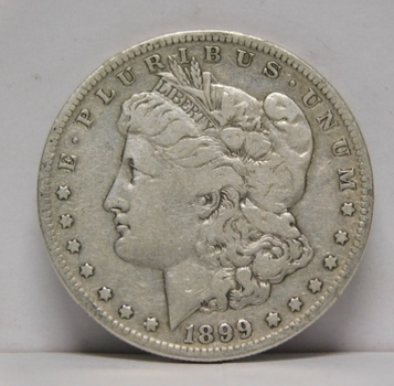 SCARCE DATE 1899-S San Francisco Minted Morgan Silver Dollar