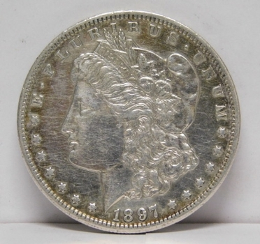 1897-S Morgan Silver Dollar - Excellent Detail - San Francisco Minted
