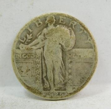 1925 Standing Liberty Silver Quarter