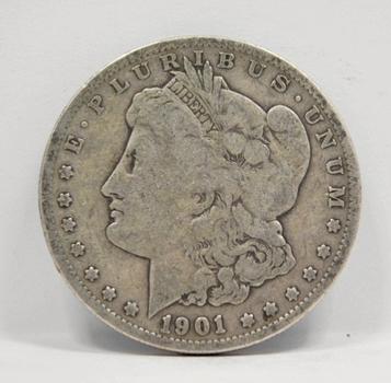 1901-O Morgan Silver Dollar - Struck in New Orleans