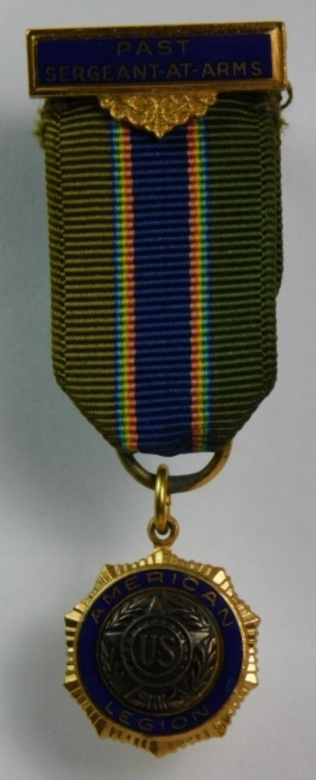 American Legion Past Sergeant-At-Arms Pin