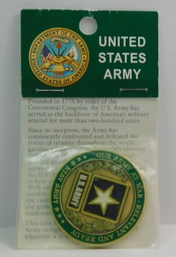 Challenge Coin - United States Army - Our Army at War - 1 75