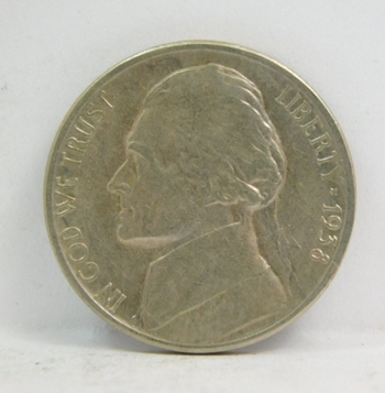 1938-S Jefferson Nickel - Nice Detail on a Higher Grade Coin