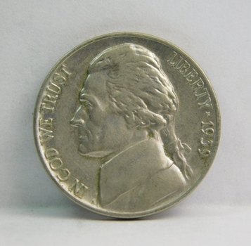 1939 Jefferson Nickel - Excellent Detail on a High Grade Coin