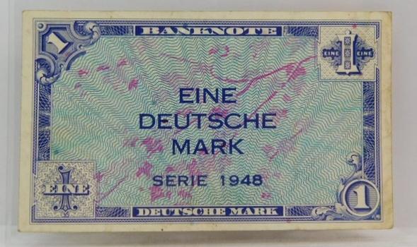 1948 Germany Deutsche Mark Bank Note
