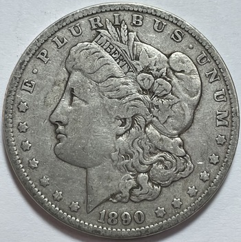1890 Morgan Silver Dollar - Nice Detail - Philadelphia Minted