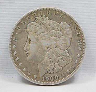 MINT ERROR 1900-O/CC - (New Orleans over Carson City Mint Mark) Morgan Silver Dollar