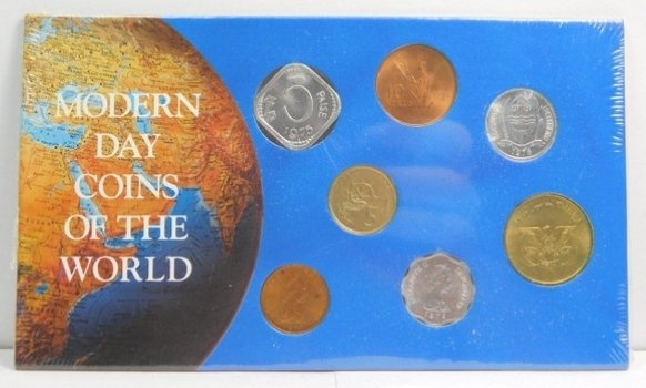 1970's Modern Day Coins of the World Set - Brilliant Uncirculated